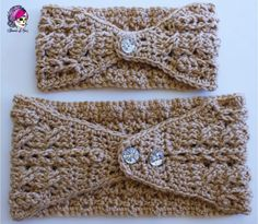 Braided Glam Cable Earwarmer - Free Pattern!