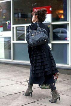 Helena Bonham Carter, love her quirky fashion sence