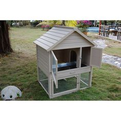 Barrington Townhouse Rabbit Hutch | Overstock™ Shopping - The Best Prices on New Age Pet Other Pet Houses