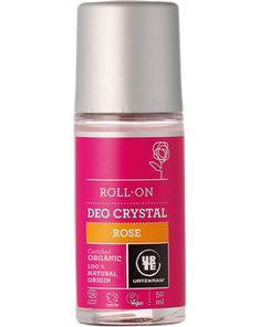 Rose deo crystal roll-on organic 50ml