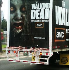 walking dead - zombie truck...omg this is so cool
