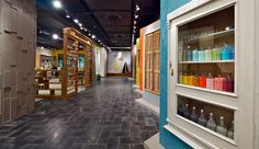 Nirlat showroom by Studio Yaron Tal, Israel showroom store design