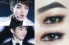 Take make-up tips from Xiumin lol Makeup Goals, Makeup Inspo, Makeup Inspiration, Makeup Tips, Beauty Makeup, Makeup Art, Asian Makeup Looks, Exotic Makeup, Korean Eye Makeup