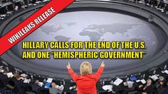 "The most frightening thing about the recent Wikileaks drop, which included excerpts of Hillary's paid Wall St. speeches is her excitement over ending the United States as we know it. Hillary is an extreme globalist. She not only embraces the globalist mentality but she actually wants to end the U.S. as we know it and replace it with a ""Hemispheric Government."" No wonder Angela Merkel is her ""favorite leader."" Hillary wants to turn the United States into Germany – or worse. Hillary said she…"