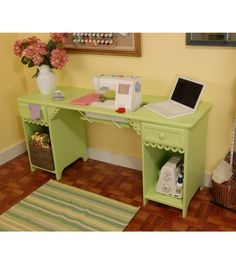 Busy Bee No. 16: Make Your Own Sewing Machine Cabinet Table | Sewing Room |  Pinterest | Bees, Sewing Rooms And Room