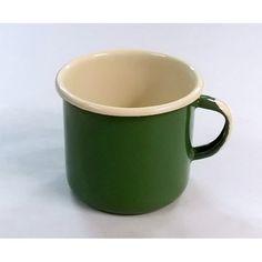 Kubek prosty Zielony (śr. 7 cm) - Sklep EmaliazOlkusza.pl