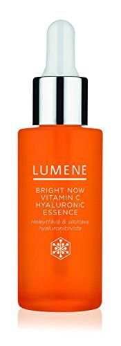 Lumene Bright Now Vitamin C Hyaluronic Essence, Fluid Ounce: Helps reduce the appearance of wrinkles and plump up the skin providing smoother, brighter and more supple complexion. Now Vitamins, How To Get Rid Of Acne, Face Skin Care, Pimples, Vitamin C, Oily Skin, Skin Care Tips, Moisturizer, Perfume Bottles