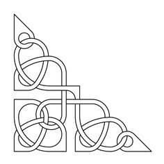Celtic knot-work by Peter Mulkers Esquina Embroidery Patterns, Machine Embroidery, Quilt Patterns, Celtic Symbols, Celtic Art, Longarm Quilting, Free Motion Quilting, Celtic Quilt, Leather Tooling Patterns