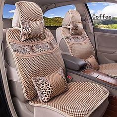 fibra de viscose verão 10 pcs definir todas as estações assento fit carro universal geral abrange assento proteção – BRL R$ 243,80