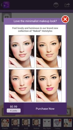 """ATTENTION! Our new """"Naked"""" makeover package is available in the #Perfect365 shop. You don't want to miss out on these incredibly fresh and flawless makeup styles!"""
