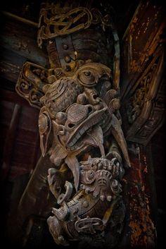 More wood carvings~ Buddist Temple, Jingdezhen