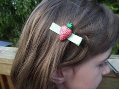 Lovely hair accessories by OutRAEgeous Designs | Available on Diggit $6 Hair Barrettes, Kid Styles, Hair Accessories, Kids, Crafts, Design, Fashion, Children, Boys