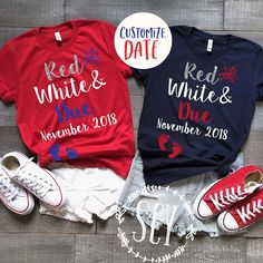 ♥ This listing is for 1 unisex tee as seen in picture with options chosen Maternity Tees, Maternity Fashion, Maternity Style, Fourth Of July Shirts, 4th Of July Outfits, July 4th, Pregnancy Outfits, Pregnancy Shirts, Pregnancy Clothes