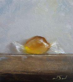 Original Oil Painting - Orange Sweet - Contemporary Still Life Art - Nelson