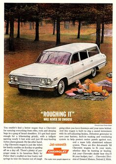 1963 Chevrolet Impala Station Wagon, my neighbors growing up had one of these in blue.