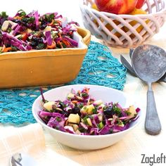 Apple, Kale and Cabbage Salad