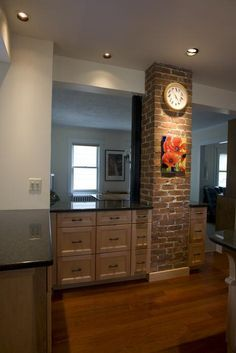 Farmhouse Kitchen Exposed Chimney   Google Search