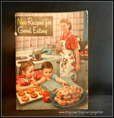 Vintage Crisco Shortening Cookbook New Recipes 1940