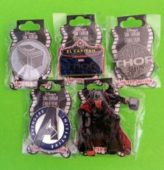 Soda Fountain Disney Thor Pins