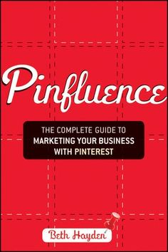 Pinfluence is a great book for anyone who has anything to promote. Whether you are a blogger, author, Etsy shop owner, travel agent or a major brand just getting into Pinterest or wanting to learn how to use it better, Pinfluence can help.