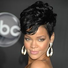 Rihanna et sa coupe courte version rock