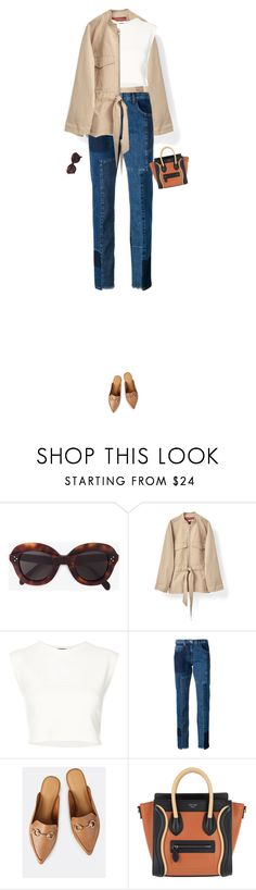 """""""Untitled #932"""" by vjdfashion ❤ liked on Polyvore featuring CÉLINE, Puma and McQ by Alexander McQueen"""