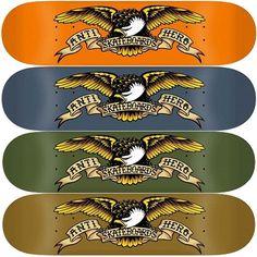 Anti Hero Skateboards, Skateboard Shop, Skateboarding, Decks, Eagle, Graphics, Boys, Classic, Baby Boys