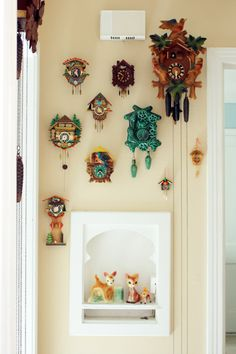 Hanging collections together - make a distinctive statement with interesting collections