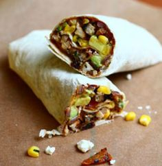 Leftover Lunches featuring Fajita Wraps - The Talking Kitchen - The Talking Kitchen