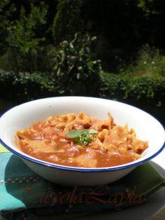 Tacconelli in zuppa di Fagioli Borlotti alla Paprika -