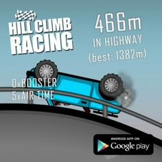 Hill Climb Racing, Climbing, App, Cards, Mountaineering, Apps, Maps, Playing Cards, Hiking