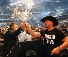 Jim Ross and Stone Cold Steve Austin