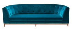 Talay Three Seat Sofa  MidCentury  Modern, Metal, Upholstery  Fabric, Sofa by Amy Somerville   London