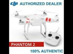DJI Phantom 2 Vision+ Quadcopter with FPV HD Video Camera and 3-Axis Gim...