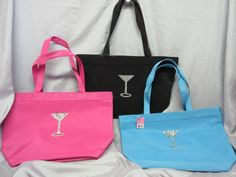 19.99$  Watch here - http://viavr.justgood.pw/vig/item.php?t=3baau73814 - SILVER SEQUIN MARTINI GLASS TOTE BAGS - BLACK, PINK, BLUE - NEW WITH TAGS