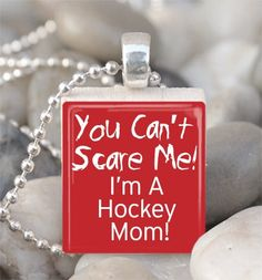 Scrabble Tile Pendant Hockey Mom Pendant Hockey by IncrediblyHip, $6.00