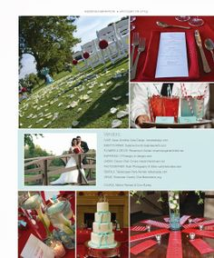 Chicago Style Weddings Real Wedding Vendor Feature 2013-2014 | Dejanae Events was the wedding planner