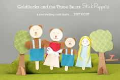POST AND PHOTOGRAPHY BY AISLING HEGARTY, GRAPHIC DESIGN BY JOCIE ORANGIOThe tale of Goldilocks and the Three Bears is a classic, and what better way to recreate a classic tale than acting it out yourself? These popsicle puppets are t...