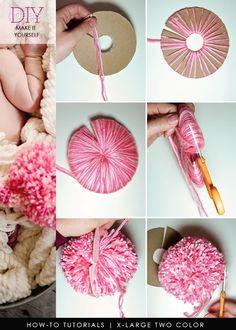 Ideas For Crochet Rug Diy Tutorials Pom Poms Ideas For Crochet Rug Diy T. Ideas For Crochet Rug Diy Tutorials Pom Poms Ideas For Crochet Rug Diy Tutorials Pom Poms Yarn Crafts For Kids, Easy Diy Crafts, Cute Crafts, Diy Crafts Videos, Crafts For Teens, Diy Crafts With Yarn, Teen Crafts, Simple Crafts, Kids Diy