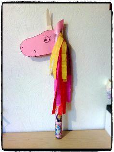 cheval, fabrication de jeu, chevalier, licorne, bricolage enfant
