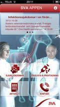 SVA-app visar djursjukdomar och provtagning http://bit.se/ehGVzD