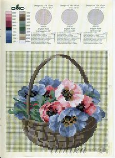 I love cross stitching and free patterns.from my Cross Stitch Love board Cross Stitch Love, Cross Stitch Needles, Cross Stitch Alphabet, Cross Stitch Flowers, Counted Cross Stitch Patterns, Cross Stitch Designs, Cross Stitch Embroidery, Hand Embroidery Patterns, Embroidery Designs