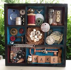 Shrine to the Goddess of Crafty Inspiration by Mistress Jennie
