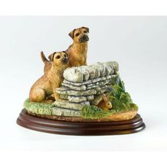 Border Fine Arts - Border Terrier - Overlooked Figurine | Border Terrier Collection | Crusader Gifts