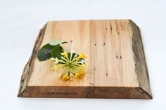 Natural Edge Cutting Board by RedOnionWoodworks