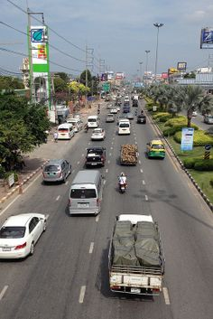 Pattaya, Thailand: Sukhumvit Road