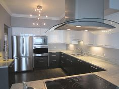 Contemporary Kitchen Installation with IKEA cabinets contemporary kitchen
