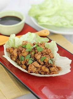 Copycat P.F. Chang's Chicken Lettuce Wraps: these were great! Made 4 servings. Used the exact amount of siracha sauce called for in the recipe, and it was a tad spicy, so if feeding to kids, lessen the amount.