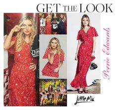 """""""Perrie Edwards Little Mix Get Weird Tour Book 2016"""" by valenlss ❤ liked on Polyvore featuring CO"""