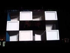 ▶ Tribe Fest 2011 / MAPPING 3D Stage - YouTube